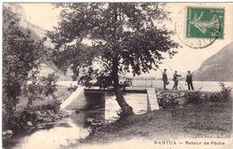 Nantua Retour De Pêche - Nantua