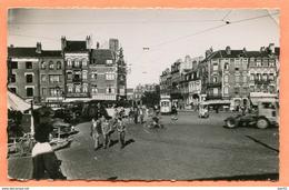 TOP N° 27 DUNKERQUE PLACE DE LA GARE (TRAMWAY) 1952 - Dunkerque