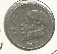 México_1974_1 Peso - México