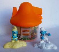 Figurines Primes Quick Schtroumpfs Maison Orange 2017 - Playmobil