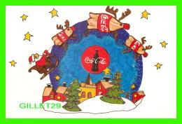 SANTA CLAUS - COCA-COLA TAKES YOU THROUGH THE HOLIDAYS - RALEIGH BOYS & GIRLS CLUB IN 1998 - - Santa Claus