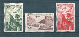 Colonie Timbres D´algérie PA De 1949/53  N°9 A 11  Neufs  ** - Luftpost