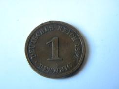 ALLEMAGNE - 1 PFENNIG 1874.A.