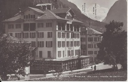 CPA Suisse St-Nicolas  (Alt 1153)  Vallée De Zermatt - VS Valais