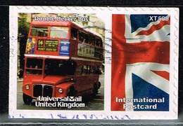 GB Universal Mail, Michel# O  Double Decker Bus - Universal Mail Stamps