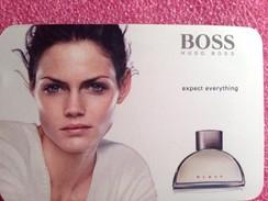 WOMEN BOSS   De  HUGO BOSS PATCH - Perfume Cards