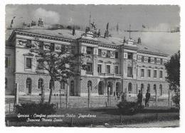 GORIZIA - CONFINE PROVVISORIO ITALIA JUGOSLAVIA -  STAZIONE MONTE SANTO   VIAGGIATA FG - Gorizia