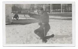 MILITARE MENTRE PRENDE LA MIRA  - 1935/38 - NV FP - Photographs
