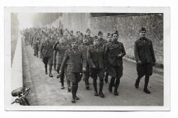FOTO MILITARI IN MARCIA ANNO 1935  - NV FP - Photographs