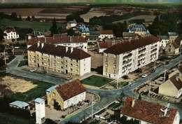 CPSM Dentelée GF  (03)  En Avion Au-dessus De....DOMPIERRE-sur-BESBRE   -  Les H.L.M. De L'Olive - Autres Communes