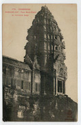 CAMBODGE--INDO-CHINE  FRANCAIS   ANGKOR-VAT  TOUR  NORD OUEST DU TROISIEME  ETAGE      2  SCAN    (NUOVA) - Cambogia