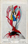 CPA Raphaël KIRCHNER Art Nouveau Carte Ancienne 9X14 écrite Ani Germany Kaiser Patriotique - Kirchner, Raphael
