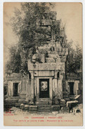 CAMBODGE--INDO-CHINE  FRANCAIS   PRASAT-KEO  TOUR CENTRALE  EN PIERRE BRUTES  MONUMENT...      2  SCAN    (NUOVA) - Cambogia