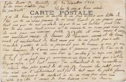 Belle Carte Fantaisie écrite De NOTRE DAME DE CENILLY (50) Femme Et Enfants - Femmes