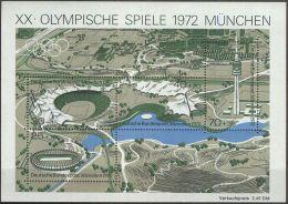 DEUTSCHLAND 1972 Mi-Nr. Block 7 ** MNH - [7] Federal Republic