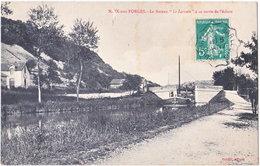 55. NAIX-AUX-FORGES. Le Bateau 'Le Lorrain' à Sa Sortie De L'écluse - France