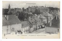 LAPALISSE  (cpa 03)  Vue Générale Sur L'église Et Le Château -   - L 1 - Lapalisse