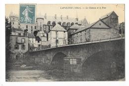 LAPALISSE  (cpa 03)   Le Château Et Le Pont -   - L 1 - Lapalisse