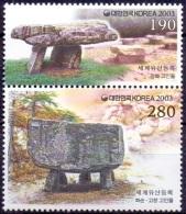 SOUTH KOREA 2003 Dolmens MNH. - Korea, South