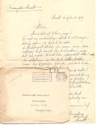 Brief Lettre - Boerengilde Haacht Aan Wachtmeester Wolfs - Mobilisatie 1939 + Enveloppe - Vieux Papiers
