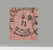 NdpMi.Nr.15  /  NORDDEUTSCHER-POSTBEZIRK -  HAMBURG Einkreis 5.9.71 - North German Conf.