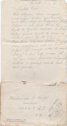 Brief Lettre - Haacht Aan Wachtmeester Wolfs - Mobilisatie 1940 + Enveloppe - Vieux Papiers