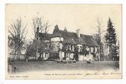 Château De SERVILLY Près LAPALISSE  (cpa 03)    -     - L 1 - Lapalisse