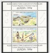 Cipro Turca/Turkish Cyprus/Chypre Turc: Villaggio E Uomo Neolitico, Neolithic Village And Man, Village Et Homme Néolithi - Préhistoire