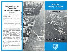 Dépliant 3 Volets Aéro-club Saint-Rémy Les Alpilles, Vol à Voile, Planeur - Publicités