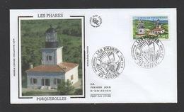 DD / FRANCE / FDC DU TP 4116 PHARE DU CAP D4ARME, PORQUEROLLES / OBL. PREMIER JOUR 9.11.2007 HYÈRES (83) - France