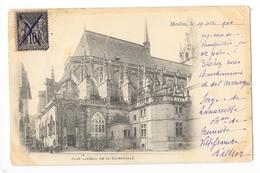 MOULINS  (cpa 03)   Côté Latéral De La Cathédrale - Carte De 1900 -    - L 1 - Moulins