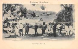 SIERRA LEONE / Freetown - View Of The Barracks - Sierra Leone