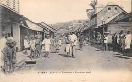 SIERRA LEONE / Freetown - Krootown Road - Beau Cliché Animé - Sierra Leone