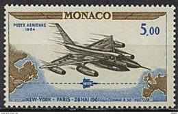 Monaco, PA N° 082** Y Et T, 82 - Poste Aérienne