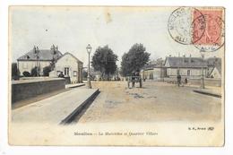 MOULINS  (cpa 03)  La Madeleine Et Quartier Villars -    - L 1 - Moulins