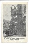 16790 - Incendie De L'Hôtel De Ville De Schaerbeek Groupe De Pompiers - Schaerbeek - Schaarbeek