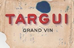 Buvard TARGUI Grand Vin - Buvards, Protège-cahiers Illustrés