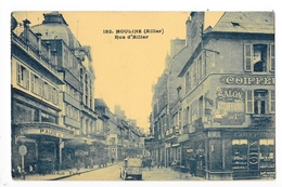 MOULINS  (cpa 03)   Rue D'Allier - Commerces Animation -    - L 1 - Moulins