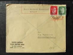 BRIEF Ostland Durch Deutsche Dienstpost Kaunas 1943 //// D*24390 - Besetzungen 1938-45