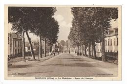 MOULINS  (cpa 03)   La Madeleine, Route De Limoges  -    - L 1 - Moulins