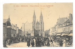 MOULINS  (cpa 03)   Place  D'Allier (un Jour De Marché)  -    - L 1 - Moulins
