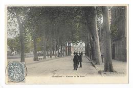 MOULINS  (cpa 03)   Avenue De La Gare  -    - L 1 - Moulins