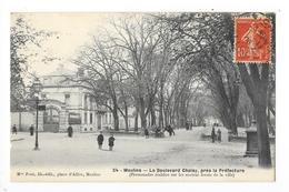 MOULINS  (cpa 03)  Le Boulevard Choisy, Près La Préfecture  -    - L 1 - Moulins