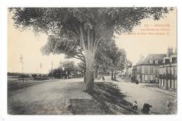 MOULINS  (cpa 03)  Les Bords De L'Allier, La Levée Et Rue Félix Mathé  -    - L 1 - Moulins