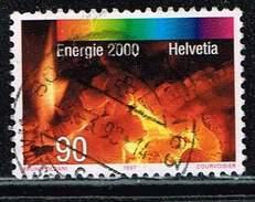 Schweiz 1997, Michel# 1619 O     Energie 2000 - Schweiz