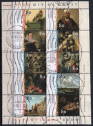 Netherlands  1999 Sheet Used Painting Rembrandt