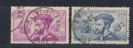 Frankrijk/France/Frankreich 1934 Mi: 292-293 Yt: 296-297 (Gebr/used/obl/o)(2381) - Gebraucht
