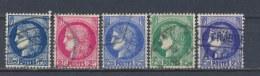 Frankrijk/France/Frankreich 1938 Mi: 400-404 Yt: 372-375A (Gebr/used/obl/o)(2389) - Frankrijk