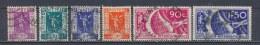 Frankrijk/France/Frankreich 1936 Mi: 328-333 Yt: 322-327 (Gebr/used/obl/o)(2391) - Frankrijk