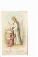 Image Religieuse L' Ange Gardien Avec Prière Au Dos 6 Mai 1817( Recto Verso ) - Images Religieuses